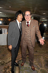 Left to right, RONNIE WOOD and VIC REEVES at the 2009 South Bank Show Awards held at The Dorchester, Park Lane, London on 20th January 2009.
