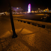 Along the stretch of the Portuguese Rivera in Estoril & Cascais at night - star quality even at night