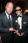 l to r: Noel Hankin and Raheem DaVaughn at the The Radio One Inaugural Celebration 2009 Hennessey VIP Lounge Salute held at Lincoln Theater in Washington, DC on January 17, 2009..CATHY HUGHES, RADIO ONE FOUNDER AND CHAIRPERSON had a Hometown Inaugural Salute to President Barack Obama and Tom Joyner at the Lincoln Theater in Washington DC. Hennessy hosted celebrities and guests in a branded Hennessy lounge where Tatiana Ali interviewed celebrities about their feelings toward the Barack Obama Presidency. Celebrities in attendance included Jamie Foxx, Alonzo Morning, Eddie Levert, T. D. Jakes, Rev. Al Sharpton, Jackie Reid, Roland Martin, Dick Gregory, Raheem DaVaughn, Bow Bow, and more. Hennessy presented a commemorative Hennessy 44 Bottle which was signed by numerous celebrities which will be auctioned to create 4 four-year scholarships via the Thrugood Marshall College Fund...