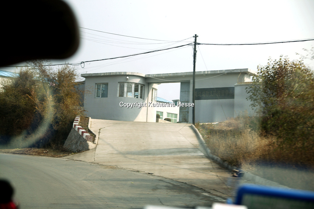 NORTHERN CHINA, OCTOBER-26: the prison where refugees and flight helpers are kept is seen in  Liaoning province.China ,October 26,2006.