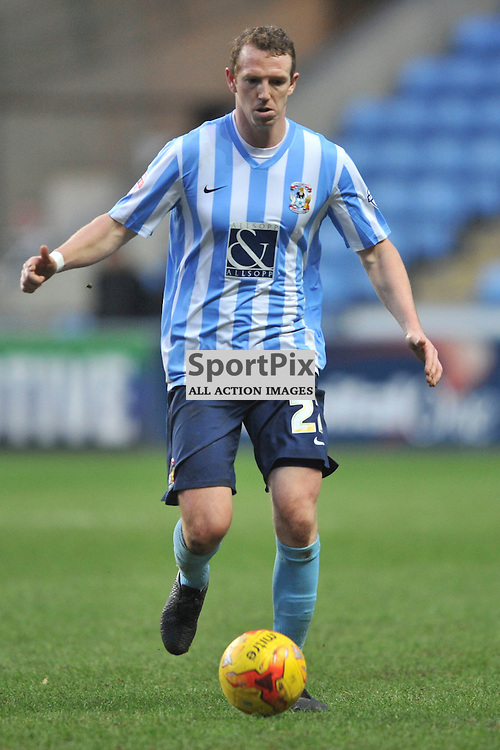 PETER RAMAGE COVENTRY CITY, Coventry City v Burton Albion, Ricoh Arena,  Sky Bet League 1, Saturday 16th JJanuary 2016