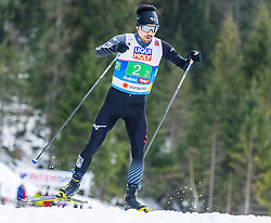 02.03.2019, Seefeld, AUT, FIS Weltmeisterschaften Ski Nordisch, Seefeld 2019, Nordische Kombination, Langlauf, Team Bewerb 4x5 km, im Bild Hideaki Nagai (JPN) // Hideaki Nagai of Japan during the Cross Country Team competition 4x5 km of Nordic Combined for the FIS Nordic Ski World Championships 2019. Seefeld, Austria on 2019/03/02. EXPA Pictures © 2019, PhotoCredit: EXPA/ Stefan Adelsberger