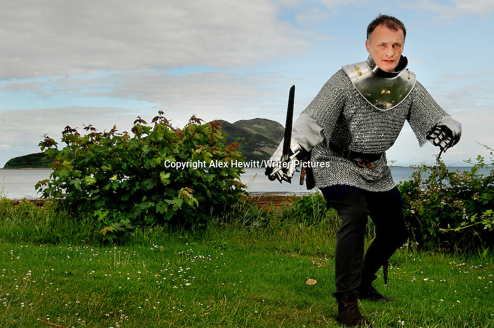 Scottish Historian and expert on medieval Scottish history, Dr Chris Brown..Copyright Alex Hewitt/Writer Pictures.contact +44 (0)208 224 1564.sales@writerpictures.com.www.writerpictures.com
