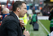 Derby manager Darren Wassall before the Sky Bet Championship match between Brentford and Derby County at Griffin Park, London, England on 20 February 2016. Photo by Andy Walter.