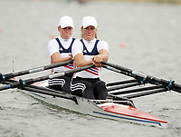 Photo: Chris Ratcliffe.<br /> <br /> World Rowing Championships. 24/08/2006.<br /> <br /> Norway Women's Double sculls team from left, Marianne Nordahl, Heidi Veeser.