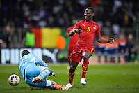 Goal Agyemang Badu  - 31.03.2015 - Ghana / Mali  - Match amical<br /> Photo : Andre Ferreira / Icon Sport