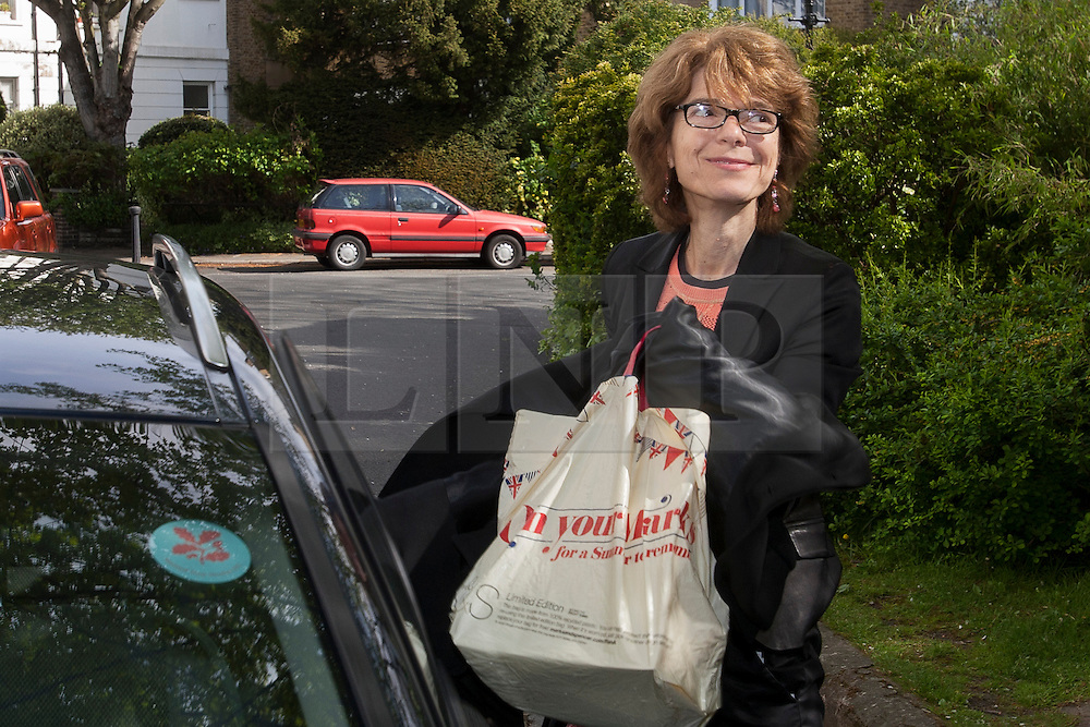 © licensed to London News Pictures. London, UK 13/05/2013. Vicky Price arriving her home in London after being released from prison on Monday, 13 May 2013. Photo credit: Tolga Akmen/LNP
