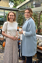 Left to right, Lavinia Richards (Brennan) and Lady Natasha Finch (Rufus-Isaacs) at The Ivy Chelsea Garden's Annual Summer Garden Party, The Ivy Chelsea Garden, 197 King's Road, London England. 9 May 2017.<br /> Photo by Dominic O'Neill/SilverHub 0203 174 1069 sales@silverhubmedia.com