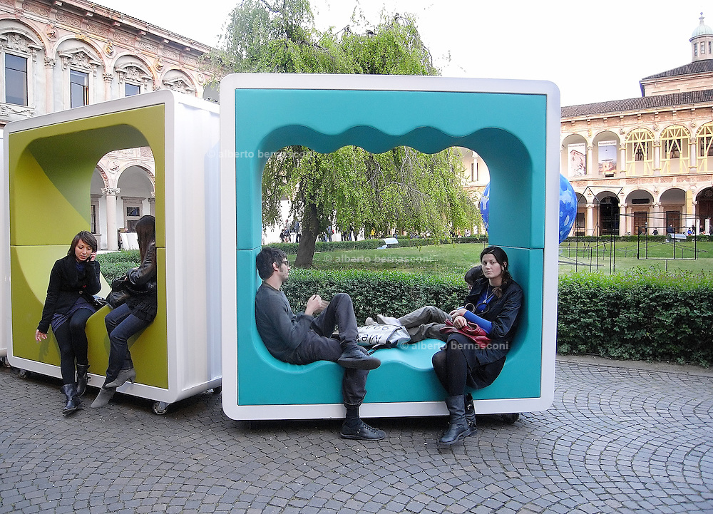 Milano, Salone del Mobile, Fuori Salone. Università statale.