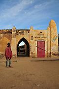 Niafunke, tha Saharan village where the famous Malian musician Ali Farka Touré used to live with his family.
