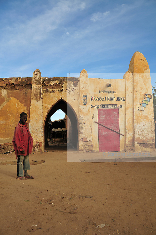 Niafunke, tha Saharan village where the famous Malian musician Ali Farka Touré used to live with his family.