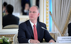 June 2, 2017 - St Petersburg, Russia - Russian Direct Investment Fund CEO Kirill Dmitriev during a meeting with the fund advisory board including Russian President Vladimir Putin June 2, 2017 in St Petersburg, Russia. (Credit Image: © Alexei Druzhinin/Planet Pix via ZUMA Wire)