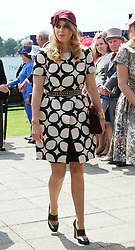 Princess Beatrice arriving at the Epsom Derby in Epsom, England, Saturday 1st June 2013 Picture by Stephen Lock / i-Images