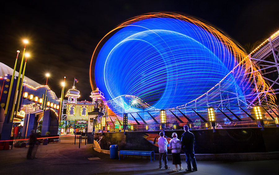 17/11/2012 FCNV CDS. Luna Park at night, twilight. Luna Park will celebrate it's 100th birthday on 13th December 2012..Picture By Craig Sillitoe. This photograph can be used for non commercial uses with attribution. Credit: Craig Sillitoe Photography / http://www.csillitoe.com<br /> <br /> It is protected under the Creative Commons Attribution-NonCommercial-ShareAlike 4.0 International License. To view a copy of this license, visit http://creativecommons.org/licenses/by-nc-sa/4.0/.