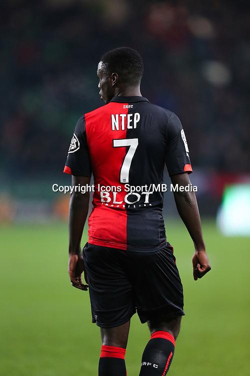 Paul Georges NTEP - 06.12.2014 - Rennes / Montpellier - 17eme journee de Ligue 1 -<br />Photo : Vincent Michel / Icon Sport