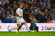 Leeds United defender Ezgjan Alioski (10) during the EFL Sky Bet Championship match between Leeds United and Brentford at Elland Road, Leeds, England on 21 August 2019.