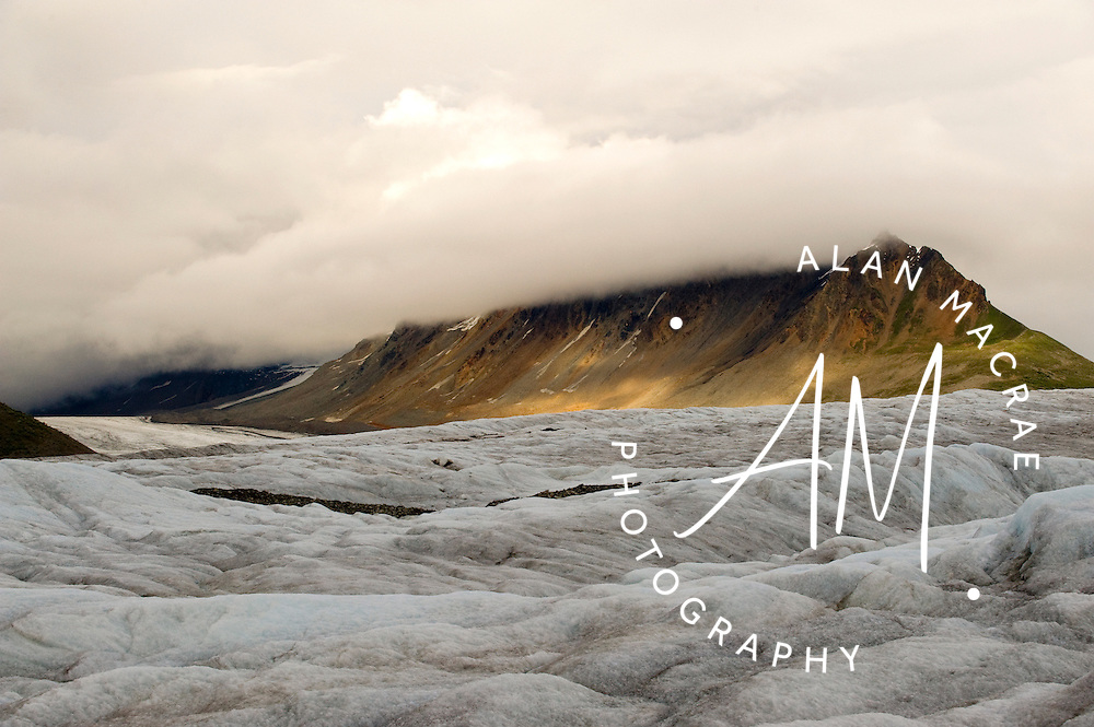 Yentna Glacier, Denali National Park, Alaska.