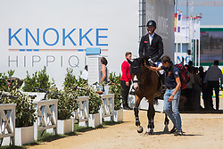 Whitaker William, GBR, Utamaro D Ecaussines<br /> Knokke Hippique 2018<br /> © Hippo Foto - Sharon Vandeput<br /> 1/07/18