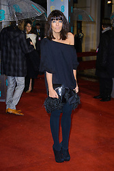 Claudia Winkleman during The British Academy Film Awards, The Royal Opera House, Bow Street, Covent Garden, London, WC2, Sunday February 10, 2013. Photo by Chris Joseph / i-Images. ..