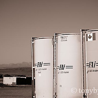 oil drilling and storage facilites and tanks cutbank montana conservation photography - blackfeet oil