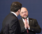 Brussels 18 December 2014<br /> <br /> European Union summit at the EU headquarters in Brussels . Family picture<br /> <br /> Pix : Martin Schulz<br /> <br /> Credit Pool / Christophe Licoppe / Isopix