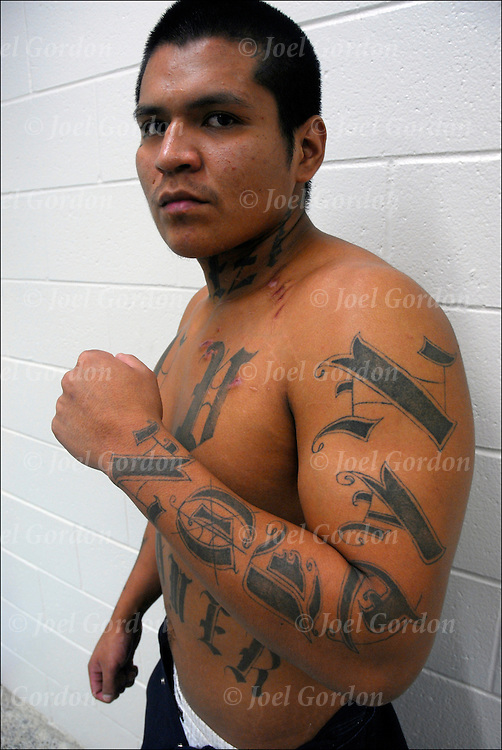 Native American Inmate With Fpsc Gang Tattoos Joel