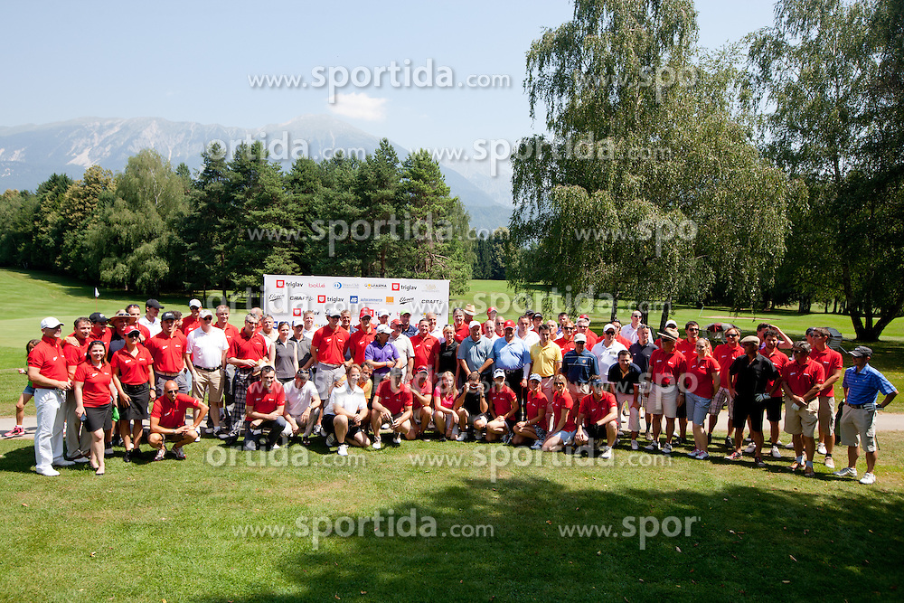at Anze's Eleven and Triglav Charity Golf Tournament, on June 30, 2012 in Golf court Bled, Slovenia. (Photo by Matic Klansek Velej / Sportida)