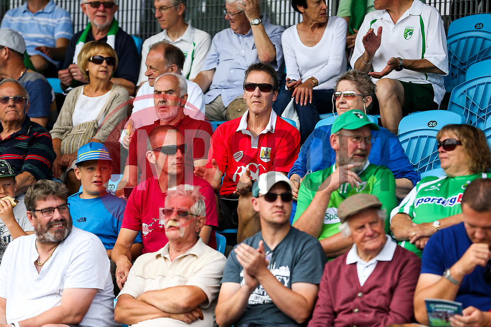 Bristol City supporters in the stands - Rogan/JMP - 08/07/2017 - Footes Lane - Guernsey - Guernsey FC v Bristol City - Pre-season Friendly.
