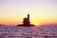 "Bug Light, Lighthouse, Orient, New York, Sunrise, Gardiners Bay Long Beach Bar ""Bug"" Light, Lighthouse, Orient, New York, Sunrise"