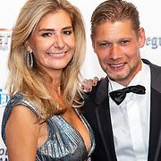 NLD/Hilversum/20190902 - Voetballer van het jaar gala 2019, Theo Lucius en partner