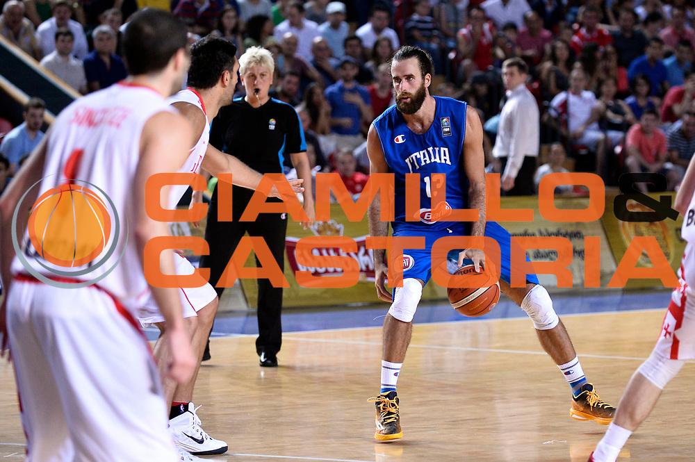 DESCRIZIONE : Tbilisi Nazionale Italia Uomini Tbilisi City Hall Cup Italia Italy Georgia Georgia<br /> GIOCATORE : Luigi Datome<br /> CATEGORIA : palleggio<br /> SQUADRA : Italia Italy<br /> EVENTO : Tbilisi City Hall Cup<br /> GARA : Italia Italy Georgia Georgia<br /> DATA : 16/08/2015<br /> SPORT : Pallacanestro<br /> AUTORE : Agenzia Ciamillo-Castoria/Max.Ceretti<br /> Galleria : FIP Nazionali 2015<br /> Fotonotizia : Tbilisi Nazionale Italia Uomini Tbilisi City Hall Cup Italia Italy Georgia Georgia
