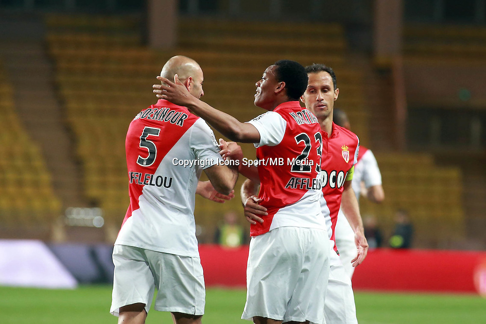 Joie Abdennour Aymen / Martial Anthony  - 13.03.2015 -   Monaco / Bastia -  29eme journee de Ligue 1 <br />