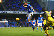 Ipswich Town's Cole Skuse clears during the EFL Sky Bet Championship match between Ipswich Town and Burton Albion at Portman Road, Ipswich, England on 10 February 2018. Picture by John Potts.