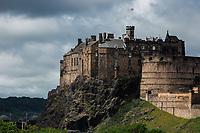 Edinburgh Castle in Edinburgh, Scotland. Copyright 2019 Reid McNally.