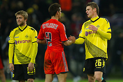 06.12.2011, Signal Iduna Park, Dortmund, GER, UEFA Champions League, Gruppe F, Vorrunde, Borussia Dortmund (GER) vs Olympique Marseille (FRA), im Bild Kuba (#16 Dortmund) nach dem Spiel // during match of UEFA Champions League, Pool F, Borussia Dortmund (GER) vs. Olympique Marseille (FRA) at Signal Iduna Park, Dortmund, GER, 2011/12/06. EXPA Pictures © 2011, PhotoCredit: EXPA/ nph/ Kurth..***** ATTENTION - OUT OF GER, CRO *****