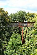 Xstrata Treetop Walkway, Royal Botanic Gardens, Kew, London, England, UK