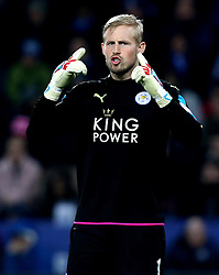 Kasper Schmeichel of Leicester City - Mandatory by-line: Robbie Stephenson/JMP - 31/12/2016 - FOOTBALL - King Power Stadium - Leicester, England - Leicester City v West Ham United - Premier League