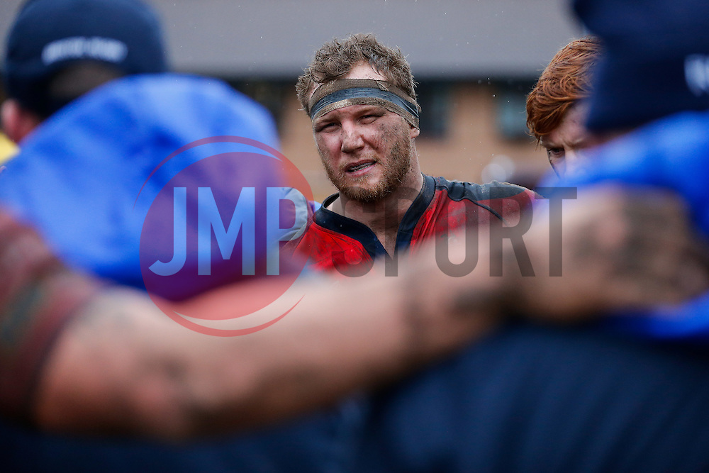 Bristol Rugby Flanker Nick Koster looks on after Bristol Rugby win the game 17-36 - Mandatory byline: Rogan Thomson/JMP - 06/02/2016 - RUGBY UNION - Clifton Lane - Rotherham, England - Rotherham Titans v Bristol Rugby - Greene King IPA Championship.