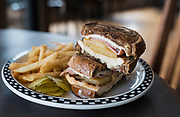 Hawaiian Chicken Melt at Sonny's Kitchen in Oregon, Wisconsin, Monday, May 20, 2019.