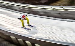 05.01.2014, Paul Ausserleitner Schanze, Bischofshofen, AUT, FIS Ski Sprung Weltcup, 62. Vierschanzentournee, Qualifikation, im Bild Richard Freitag (GER) // Richard Freitag (GER) during qualification Jump of 62nd Four Hills Tournament of FIS Ski Jumping World Cup at the Paul Ausserleitner Schanze, Bischofshofen, Austria on 2014/01/05. EXPA Pictures © 2014, PhotoCredit: EXPA/ JFK