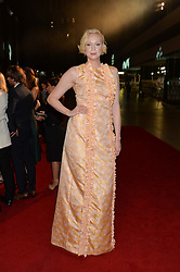 GWENDOLINE CHRISTIE at the GQ Men of The Year Awards 2016 in association with Hugo Boss held at Tate Modern, London on 6th September 2016.