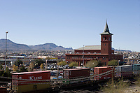 Railroad Station in downtown, El Paso, Texas.