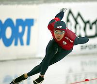 Skøyter, 9-10. november 2002. Verdenscupåpning, Vikingskipet, Derek Parra, USA