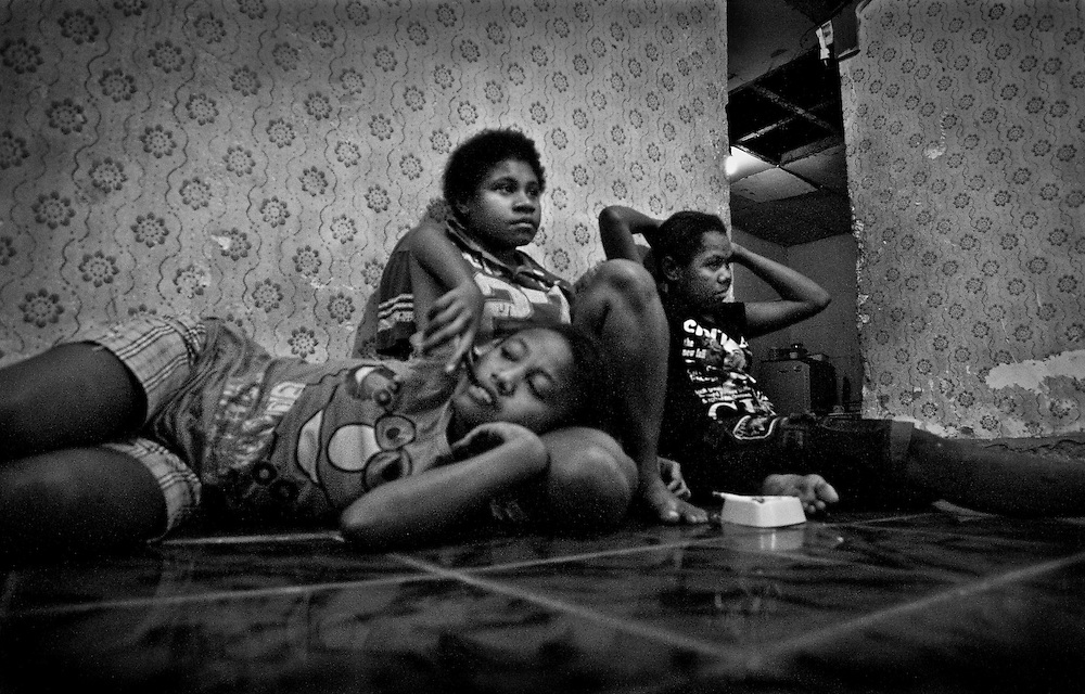 Natalia (16), Arken (17), and Marsela (14) are not the typical teenage girls, they are street prostitutes. Poor and uneducated, many girls in Papua sell their bodies in order to survive.