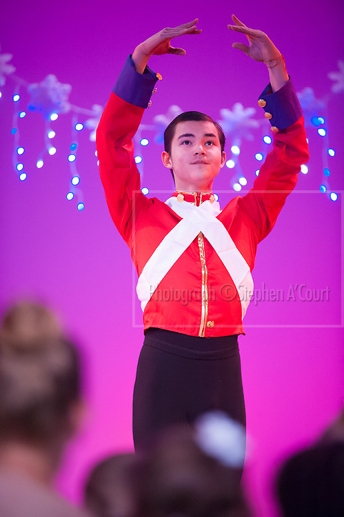 Wellington, NZ. 6.12.2015.  Nutcracker Prince, from the Wellington Dance & Performing Arts Academy end of year stage-show 2015. Little Show, Sunday 3.15pm. Photo credit: Stephen A'Court.  COPYRIGHT ©Stephen A'Court
