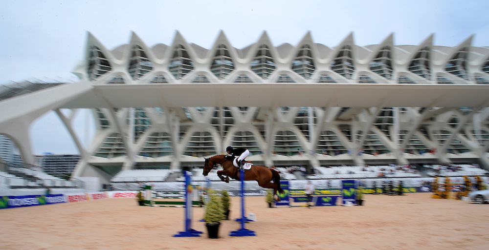 Horse-Riding in the Global Champions Tour 2009 in Valencia./Xaume Olleros.