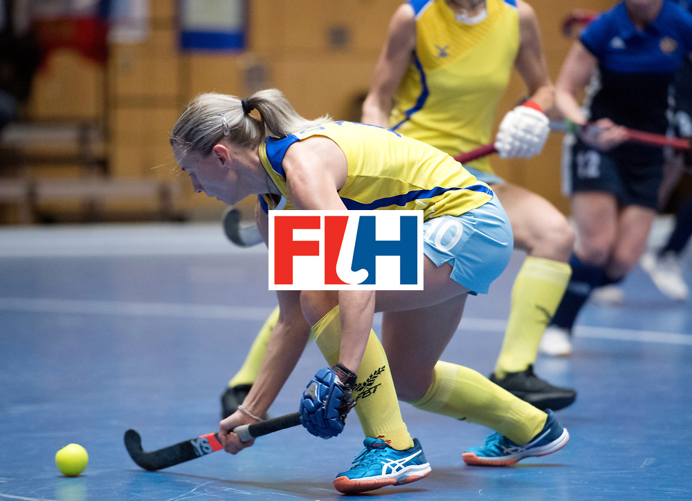 BERLIN - Indoor Hockey World Cup<br /> Kazakhstan - Russia<br /> foto: Vera Domashneva <br /> WORLDSPORTPICS COPYRIGHT FRANK UIJLENBROEK