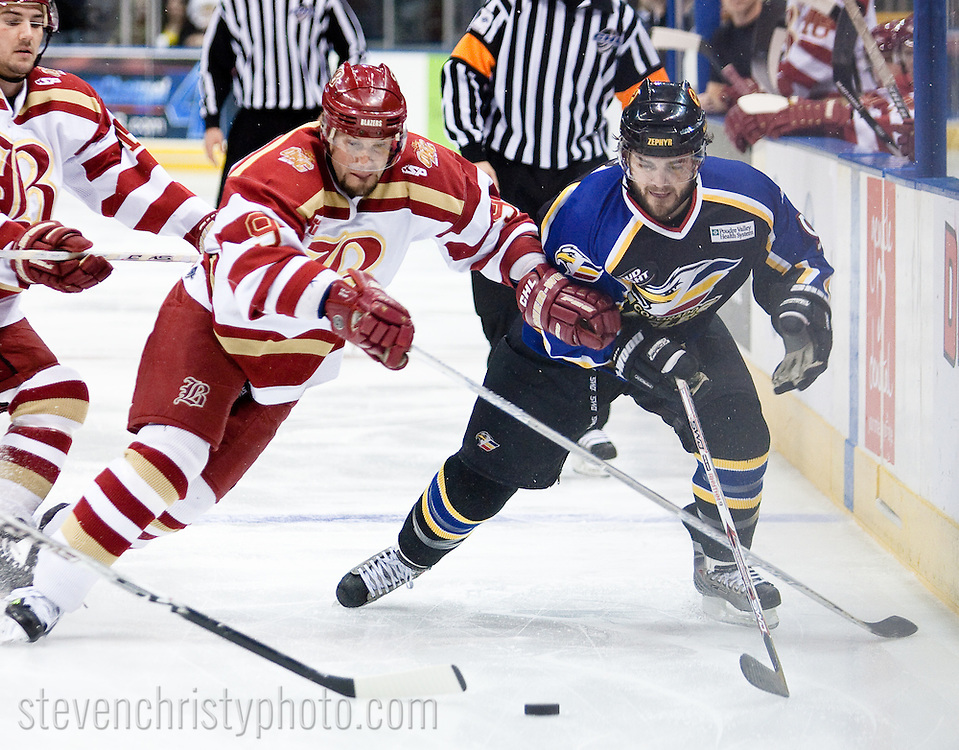 December 30, 2008: The Colorado Eagles of the CHL play against the Oklahoma City (OKC) Blazers at the Ford Center in Oklahoma City, OK.