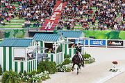 Anna Kasprzak - Donnperignon<br /> Alltech FEI World Equestrian Games™ 2014 - Normandy, France.<br /> © DigiShots