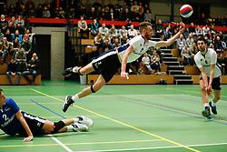 20170125 NED: Beker, Sliedrecht Sport - Seesing Personeel Orion: Sliedrecht<br />Carl Zwijnenburg (3) of Sliedrecht Sport, Albert Stek (9) of Sliedrecht Sport <br />©2017-FotoHoogendoorn.nl / Pim Waslander